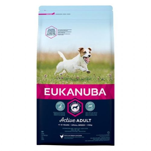 Eukanuba Active Adult Small Breed Chicken 2kg